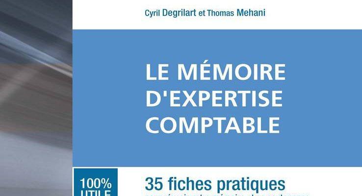 Les Carrés DEC 3 – Le mémoire d'expertise comptable 2e édition – Cyril Degrilart, Thomas Mehani